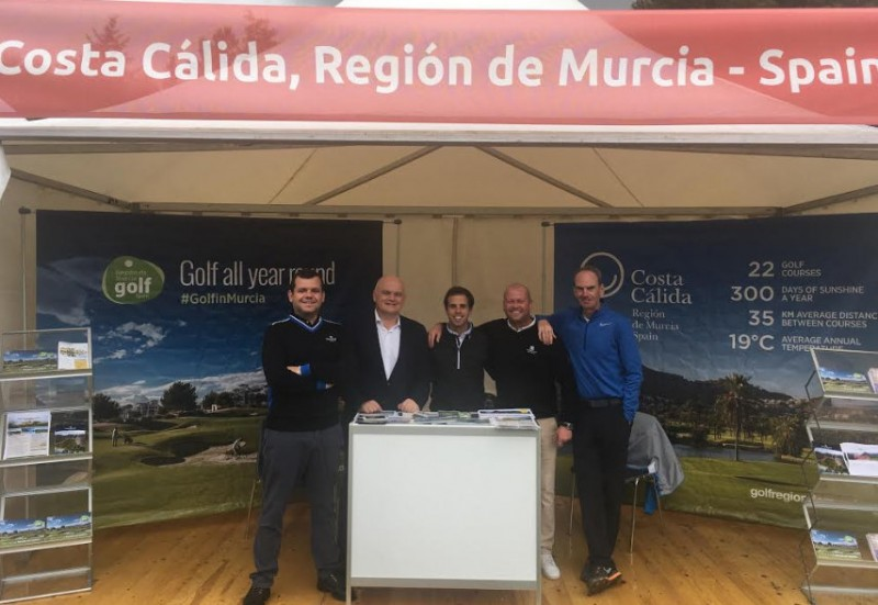 <span style='color:#780948'>ARCHIVED</span> - Costa Cálida golf tourism promoted at Made in Denmark tournament