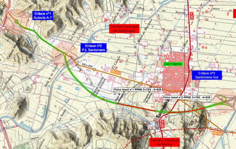 """<span style='color:#780948'>ARCHIVED</span> - Revised plans presented for completion of San Javier's """"orange grove motorway"""""""