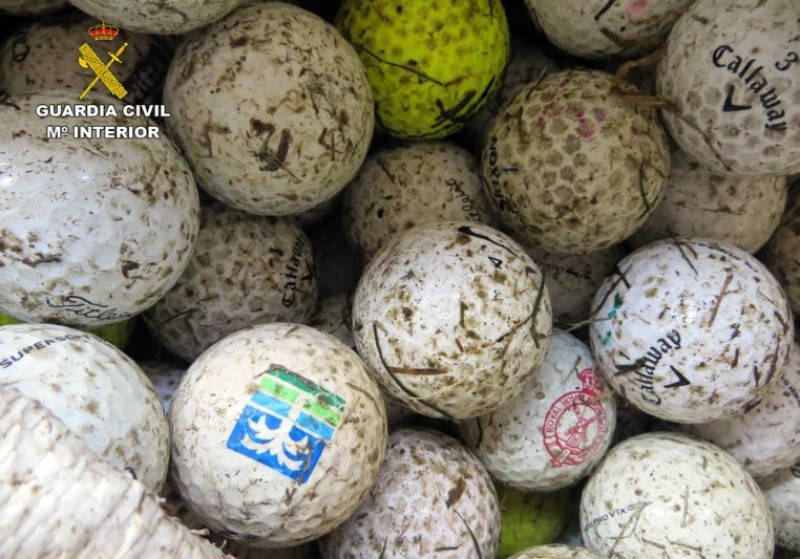 <span style='color:#780948'>ARCHIVED</span> - Thieves caught red-handed with 1,000 golf balls at La Manga Club
