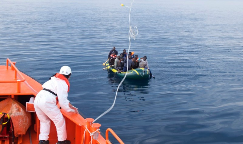 318 migrant deaths in the Mediterranean off the coast of Spain this year
