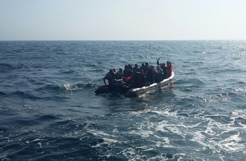 <span style='color:#780948'>ARCHIVED</span> - 23 migrants intercepted on board two small boats off Cabo de Palos