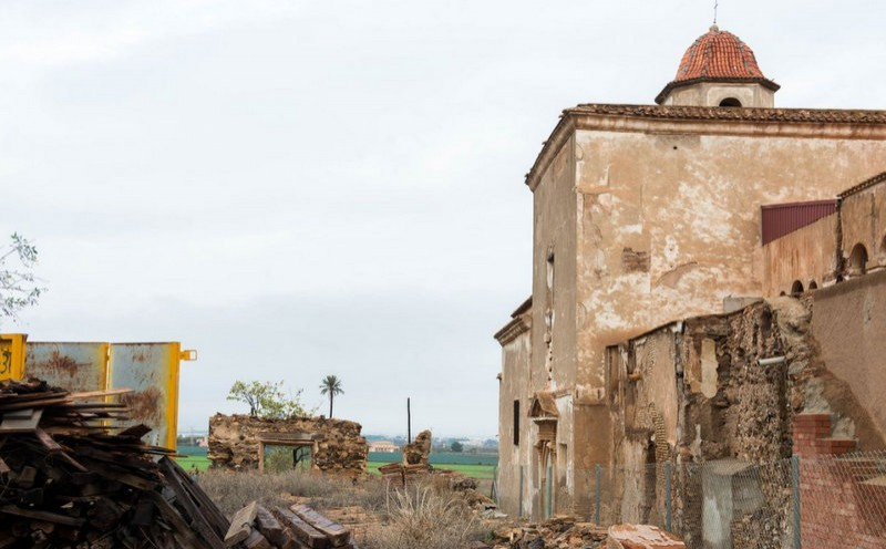 <span style='color:#780948'>ARCHIVED</span> - Restoration work halted again at the monastery of San Ginés de la Jara