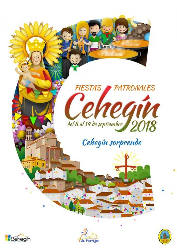 8th to 14th September, Fiestas Patronales 2018 in Cehegín