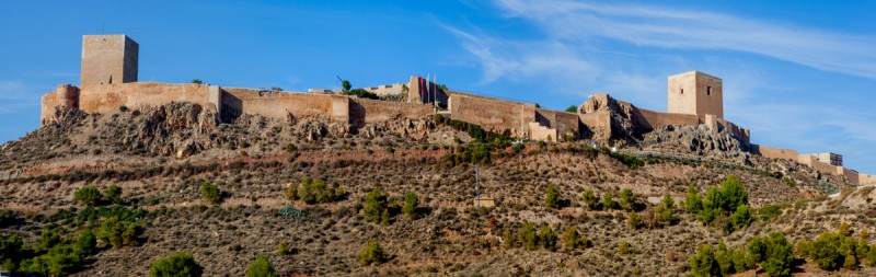 Lorca Castle open seven days a week this autumn