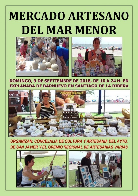 7th to 16th September 2018: what's on in the municipality of San Javier