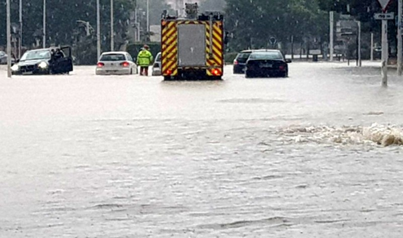 Flooding in Yecla but most of Murcia escapes the gota fría