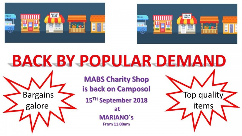 15th September MABS sale on Camposol