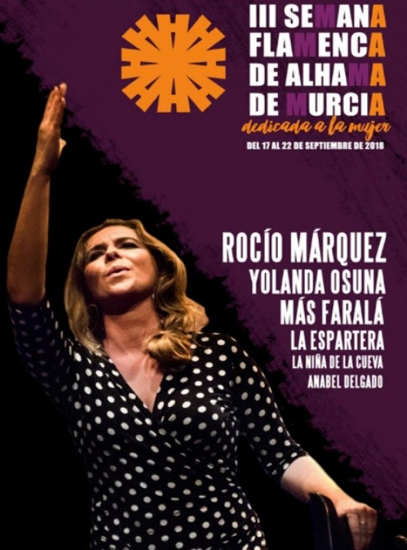 17th to 22nd September a week of free flamenco in Alhama de Murcia