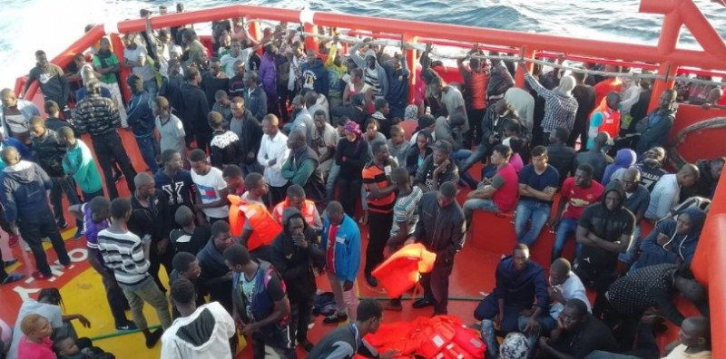 <span style='color:#780948'>ARCHIVED</span> - Spain is receiving 43 per cent of migrants crossing the Mediterranean