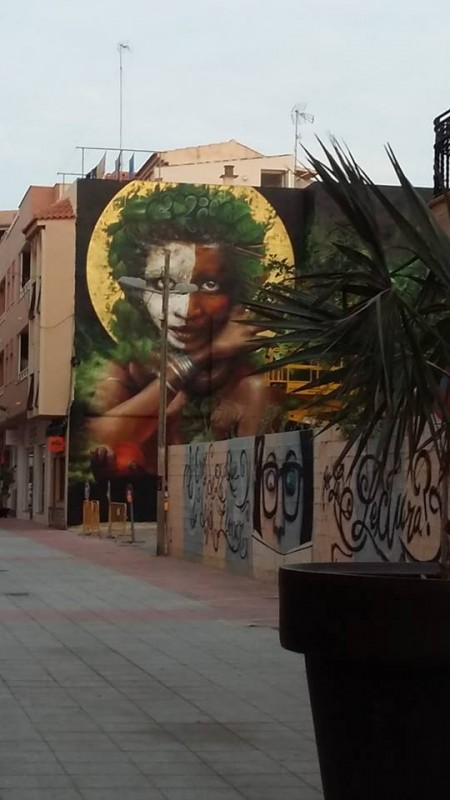 20th October Los Alcázares; Free guided walking route to see urban art in the municipality