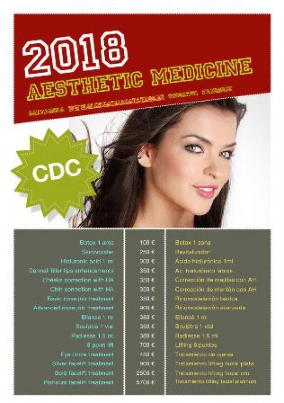 Clinica Diaz Anti-age treatments, PRP, Mesotherapy and Botox & Fillers injections