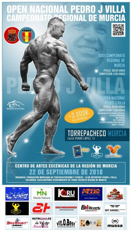22nd September Bodybuilding competition in Torre Pacheco