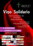 28th September Solidarity wine and flamenco for cancer support in Jumilla