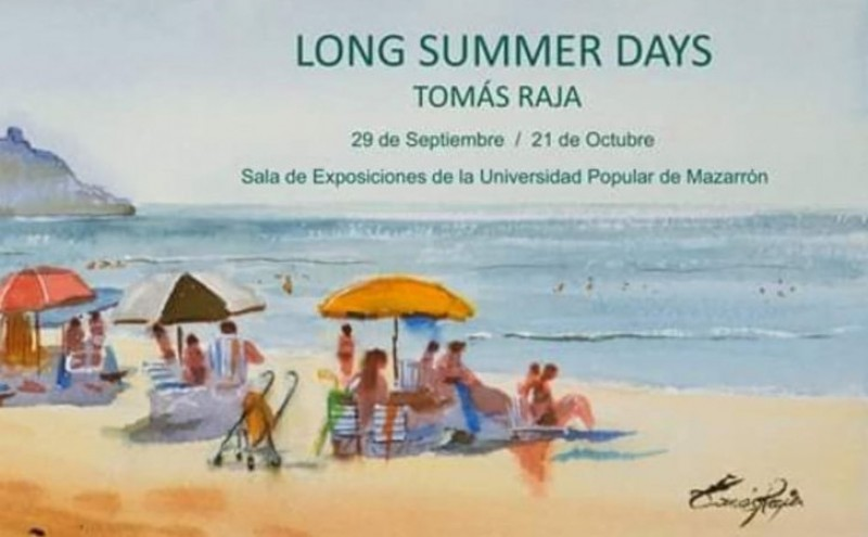 Until 21st October, Tomás Raja at the Universidad Popular in Mazarrón