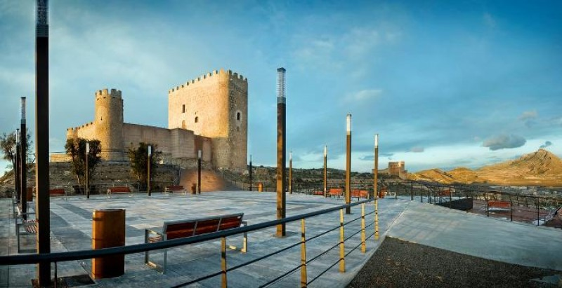 28th October free guided tour of Jumilla castle