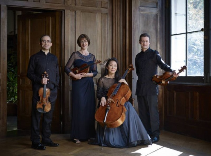 8th January, the Brentano Quartet at the Auditorio Víctor Villegas in Murcia