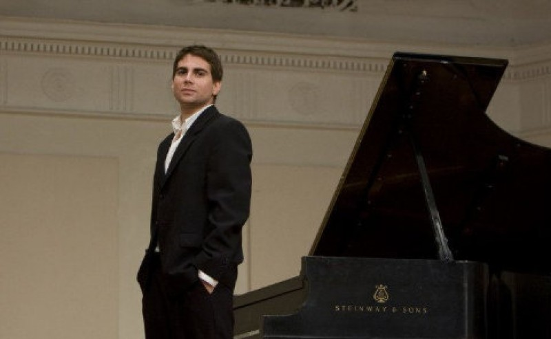 11th March, Chopin piano recital at the Auditorio Víctor Villegas in Murcia