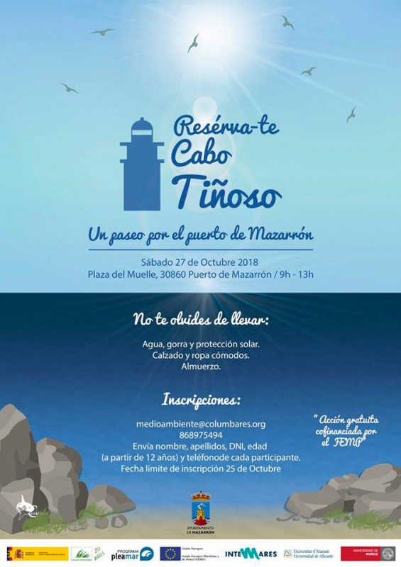 27th October Free guided route to discover the fishing history of Mazarrón