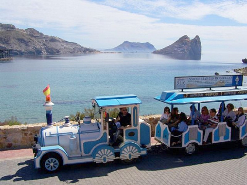 21st October FREE route of the railways tour in Águilas