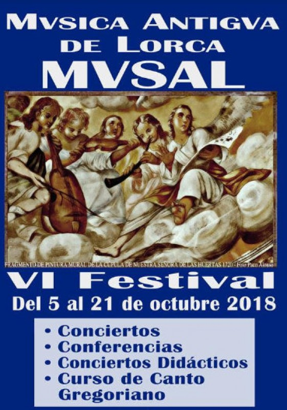 5th to 21st October, MUSAL medieval and baroque music festival in Lorca