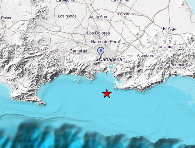 <span style='color:#780948'>ARCHIVED</span> - 2.0 earthquake just off the coast of Cartagena