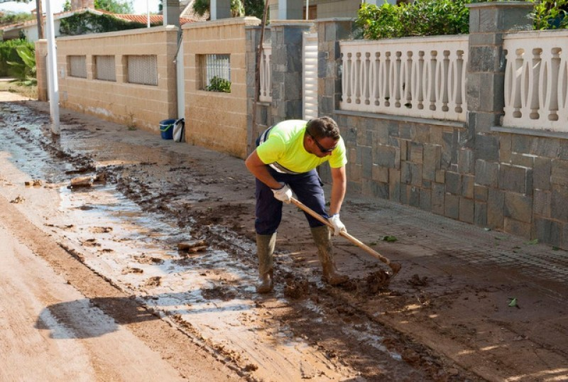 Murcia government proposes floodwater channel diversions in Campo de Cartagena