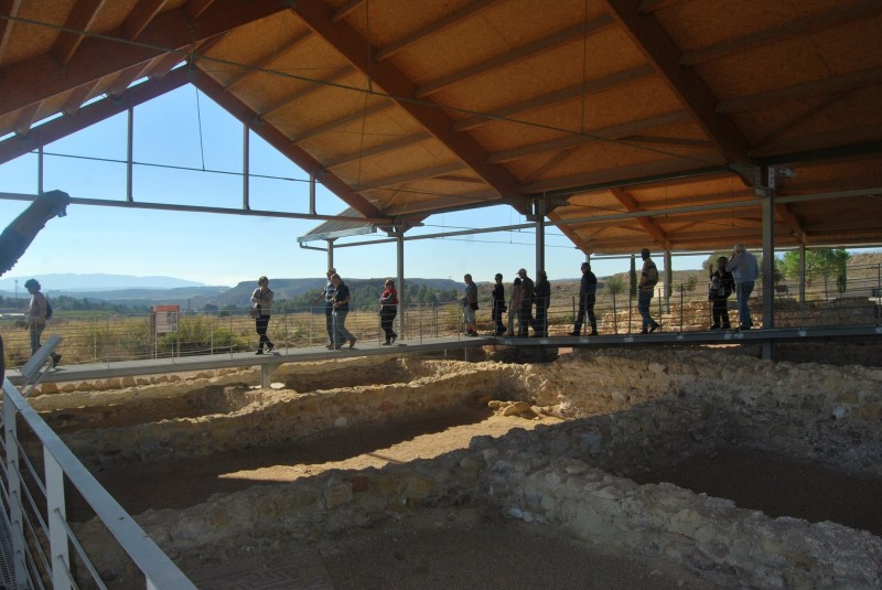 Free guided tours of the Villaricos Roman Villa site in Mula on Sundays throughout December
