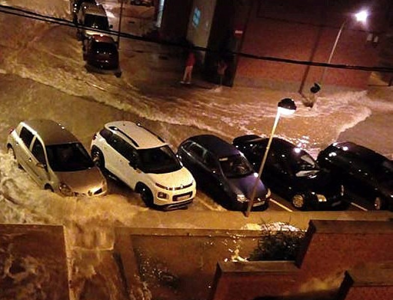 Severe disruption in Castellón and Teruel due to gota fría storm