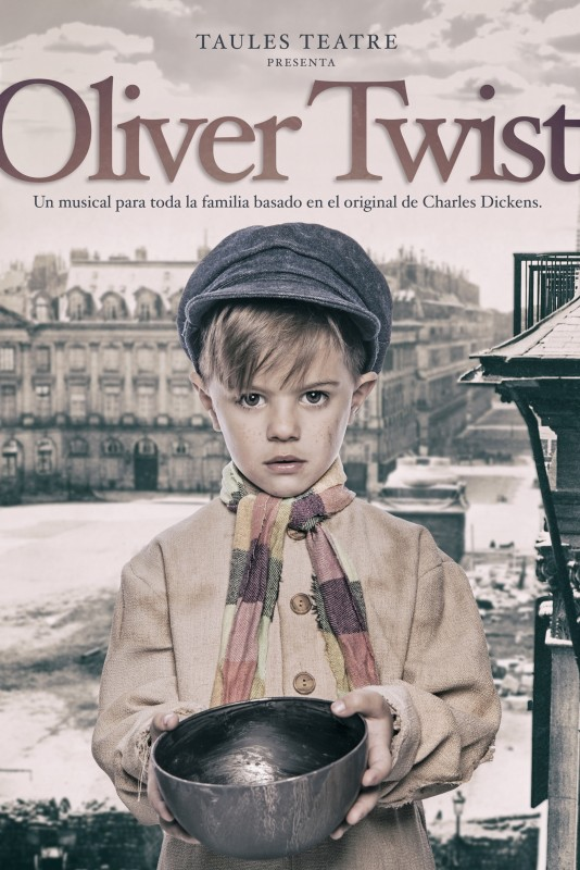 <span style='color:#780948'>ARCHIVED</span> - 15th December Oliver the musical at the Teatro Circo Apolo in El Algar Cartagena