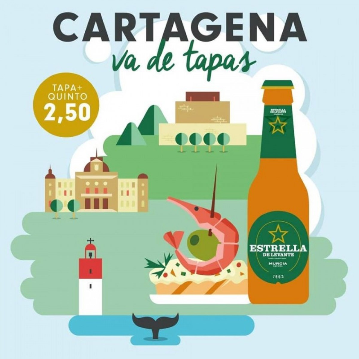 19th October to 4th November Cartagena va de Tapas