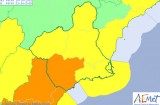 Weather alert update for the Region of Murcia on Saturday