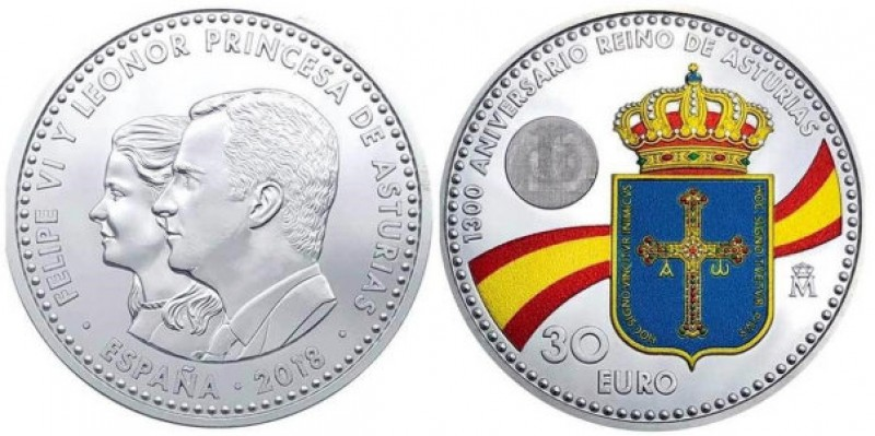 <span style='color:#780948'>ARCHIVED</span> - Controversy surrounds the design of Spain's new commemorative 30-euro coin