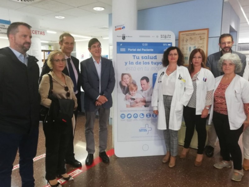 <span style='color:#780948'>ARCHIVED</span> - Over 7,500 people use the time-saving Murcia health service patients app