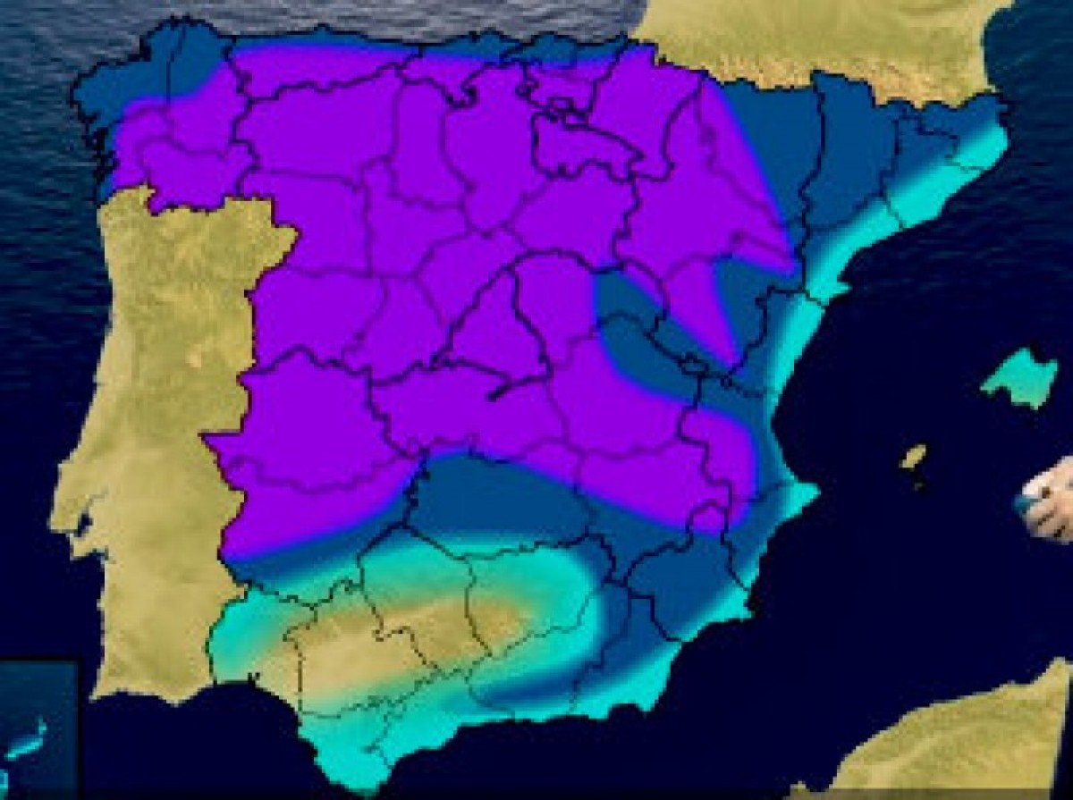 Temperatures in Murcia expected to plummet by 10 degrees at the weekend