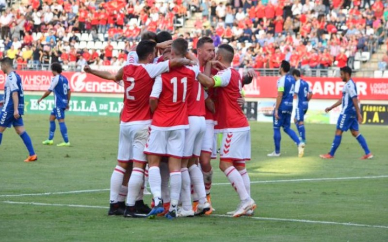 <span style='color:#780948'>ARCHIVED</span> - Unbeaten Real Murcia footballers have not been paid for 3 months