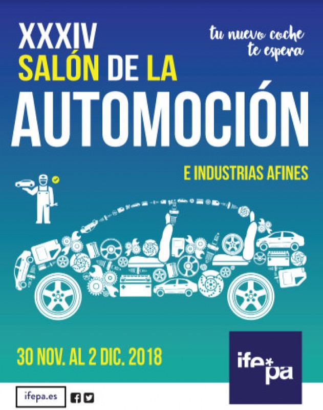 <span style='color:#780948'>ARCHIVED</span> - 30th November to 2nd December, annual motor show at the Ifepa centre in Torre Pacheco