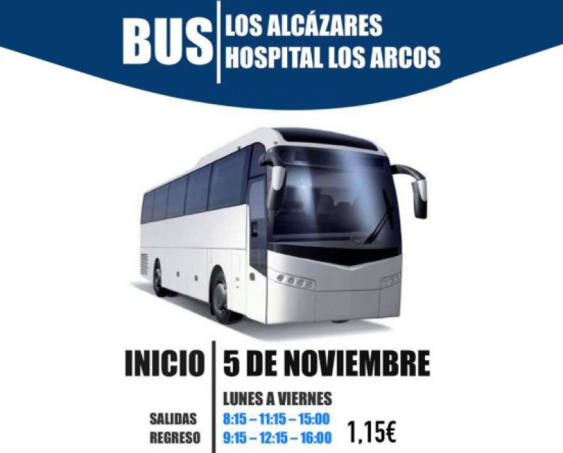<span style='color:#780948'>ARCHIVED</span> - Los Alcázares-Los Arcos hospital bus service restored after 5 years