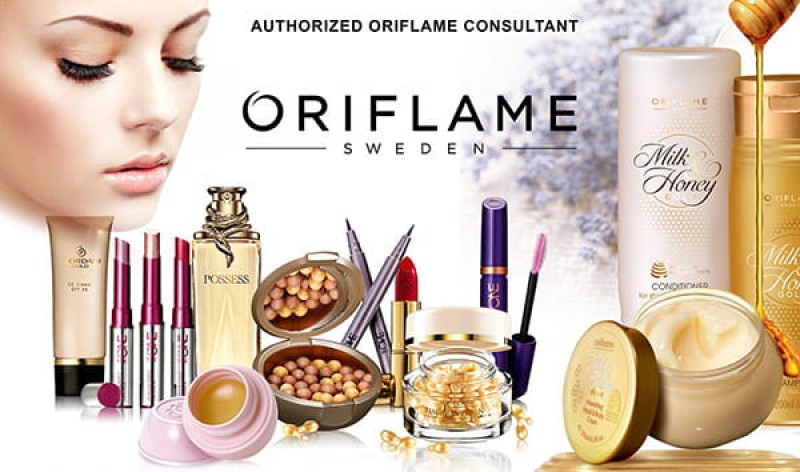 Cosmetics agents wanted for Oriflame products in the Region of Murcia