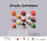 1st November to 2nd December, food lovers weekends at Jumilla restaurants and olive oil presses