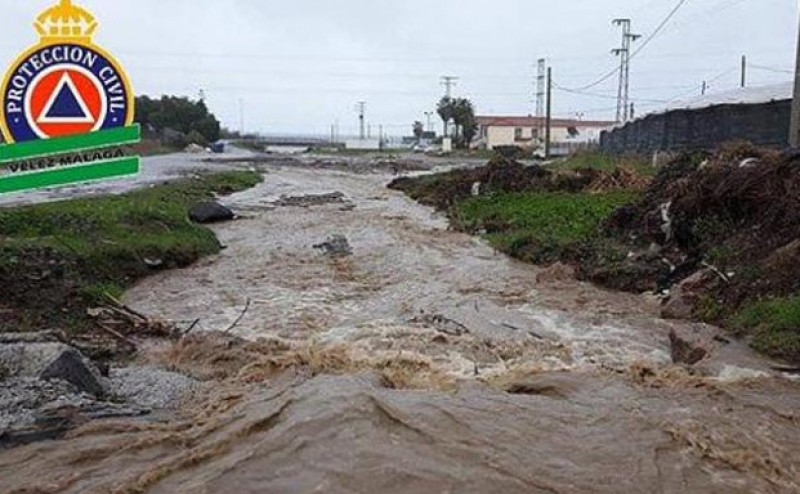 Another fatality in more Málaga flooding on Tuesday