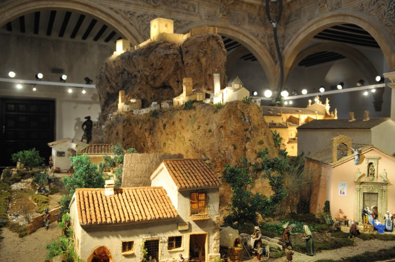 Between 10th and 28th December guided Christmas tour in Lorca