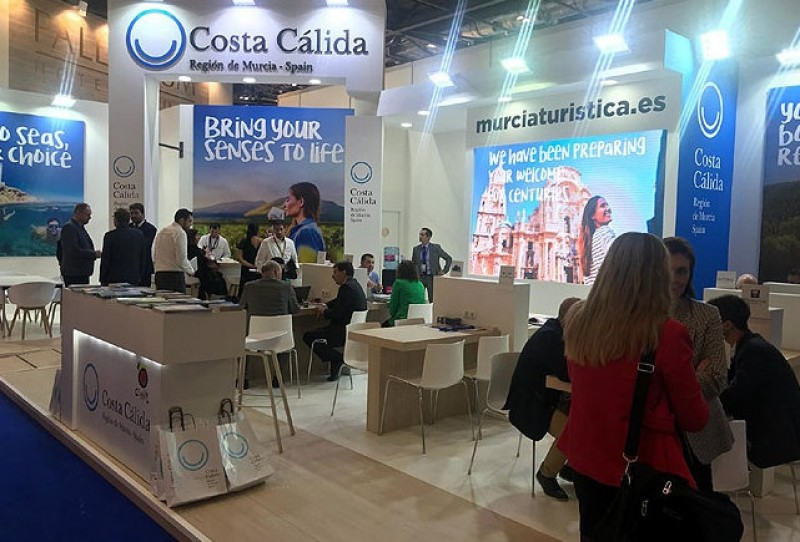 Murcia pushes Corvera airport at the World Travel Market in London