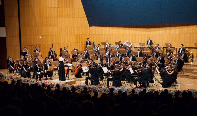4th January, New Year orchestral concert at the Auditorio Víctor Villegas in Murcia