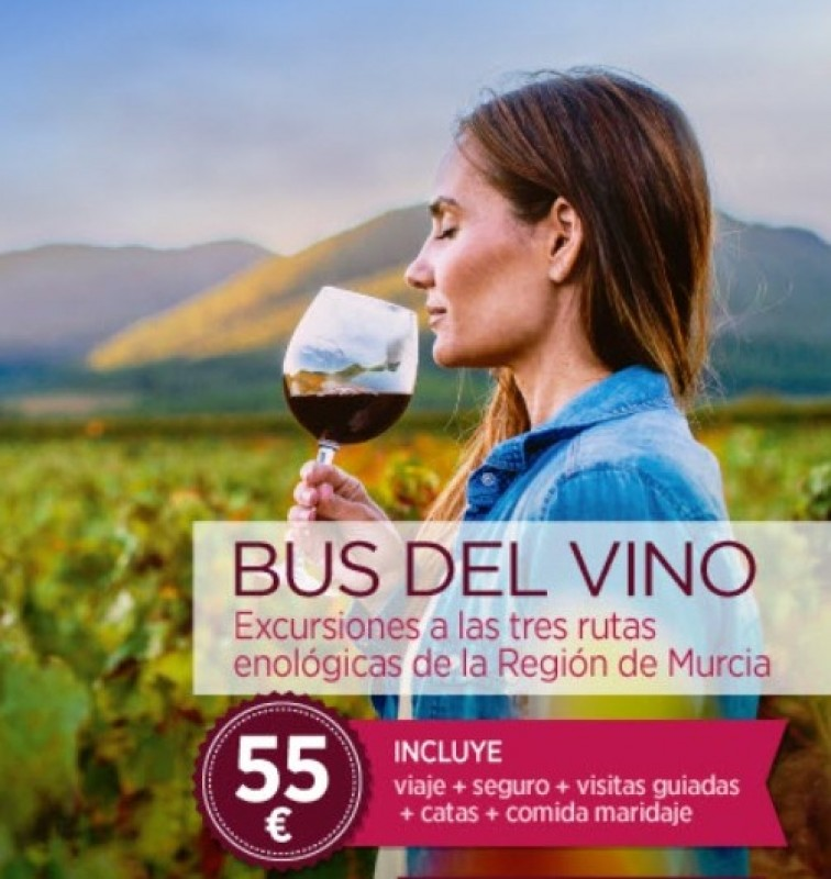 <span style='color:#780948'>ARCHIVED</span> - 1st December The Murcia Wine Bus visits Yecla
