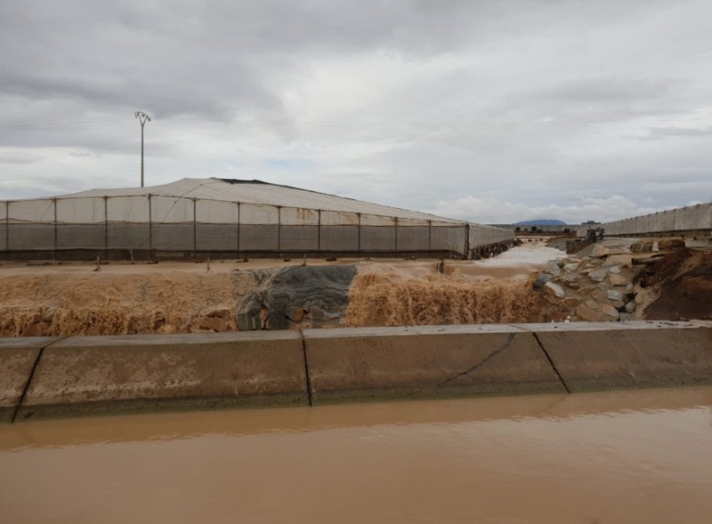 <span style='color:#780948'>ARCHIVED</span> - Autumn 2018 is already the third wettest in Murcia this century