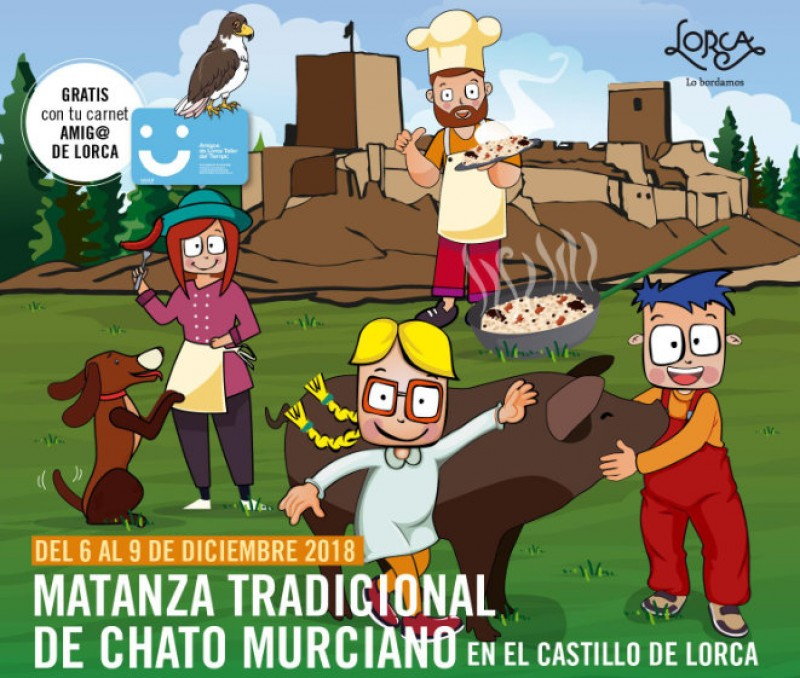 6th to 9th December: Traditional festival of the Matanza in Lorca castle