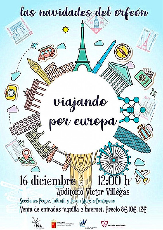 16th December, Christmas choral concert at the Auditorio Víctor Villegas in Murcia
