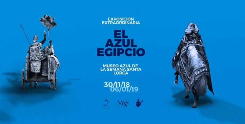 """Until 6th January, """"Egyptian Blue"""" exhibition at the Paso Azul embroidery museum in Lorca"""