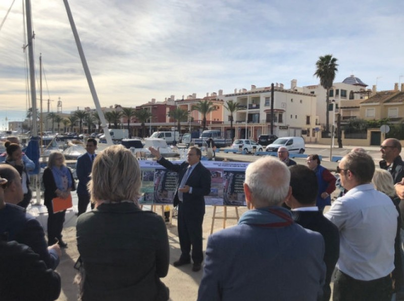 180,000 euros for renovation and improvements in Cabo de Palos harbour and marina