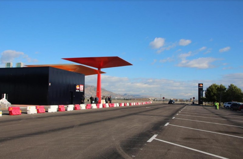 New motorway service area between Alhama de Murcia and Totana